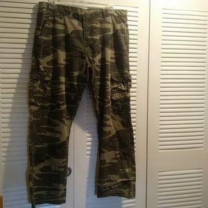Wrangler Camouflage Pants Size 38 X 30